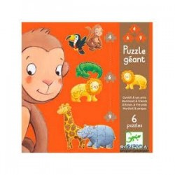 Giant Puzzle Animals