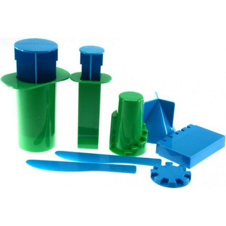 Motlles de plàstic per a fer castells