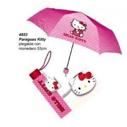 Paraguas plegable Hello Kitty!