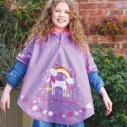 Poncho mágico unicornio