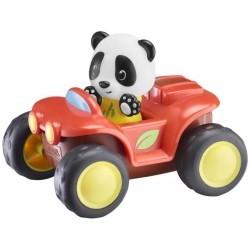 Panda en coche