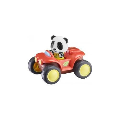 Panda by car
