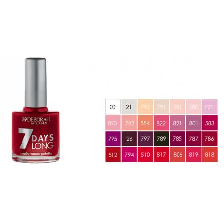 Paint nails.7 days long
