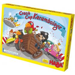 Board game. Crash cup karambolage