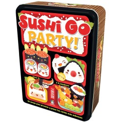 Juego de mesa. Sushi go party