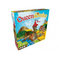 Board game. Queen domino
