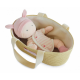 Doudou with carrycot 28 cm