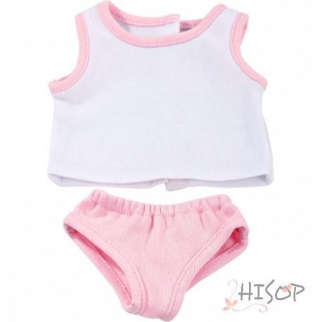 Shirt and pink panties