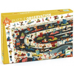 Puzzle Observation Coche.