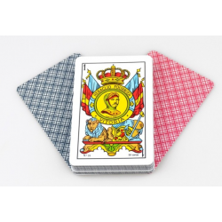 Spanish deck of cards cards