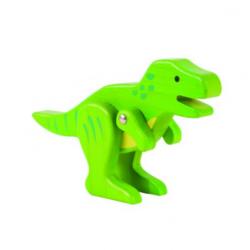 Dinosaurio T-Rex de bambú