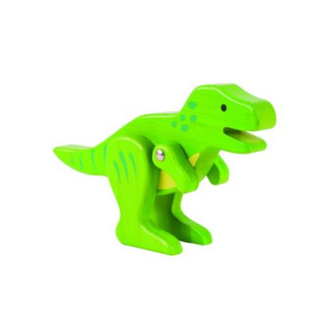 Dinosaure T-Rex de bambú