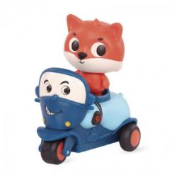 Animales variados en automobiles