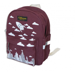 Red city backpack