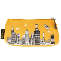 Yelow city pencil case