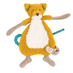 Doudou fox pacifier holder. Olga's journey