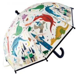 Paraguas cambia de color
