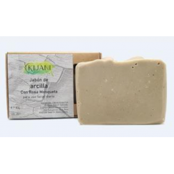 clay with rosehip soap bar