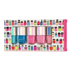 Nail polishes with water base