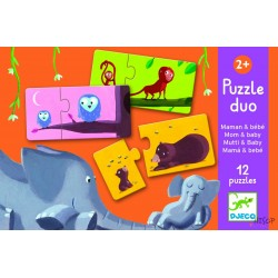 Puzzle duo Mom-Baby