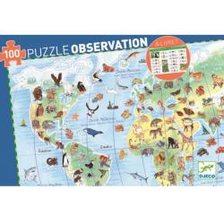 Puzzle Observation Animals del Món