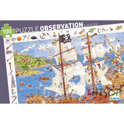 Puzzle Observation the pirates