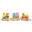 Creafarm Pull-along activity train