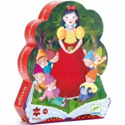 Silhouette Puzzle Sleeping Beauty