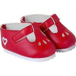 Red shoes T / 36 (doll)