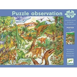Puzzle Observation Dinosaurios