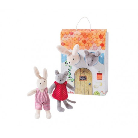 Nini & Sylvain Boxed Gift Set by Moulin Roty