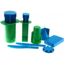 Moldes de pástico para hacer castillos