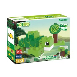Eco-friendlies blokcs swamp turtle 12 pieces