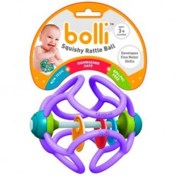 Elastic teething ball