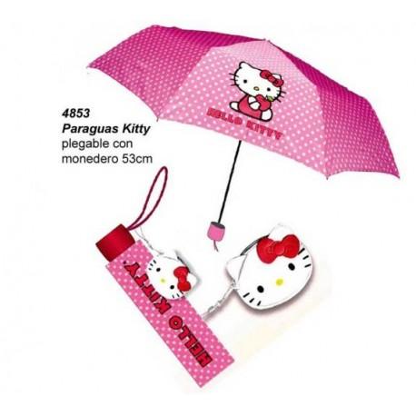 Paraigües plegable Hello Kitty!
