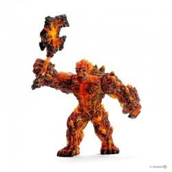 Lava Monster with weapon 42447