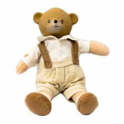 Colección Meiya y Alvin. Wallace el oso de peluche pequeño