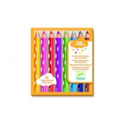 Colouring pencils for little ones.
