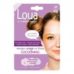 Loua.Mascara Tissu facial cocooning