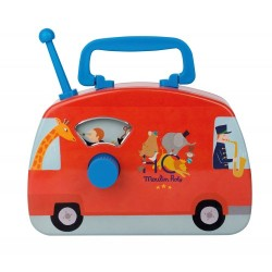 Circus musical bus