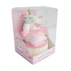 Peluche unicornio bailarina rosa (3316)