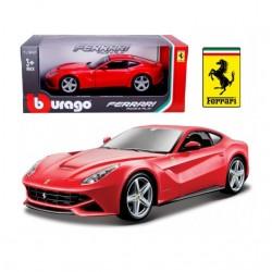Coche Ferrari escala 1:24