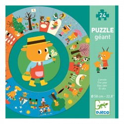 Giant puzzles The year