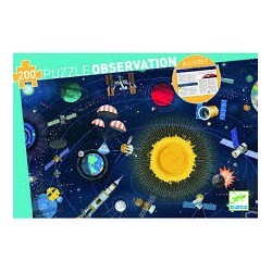 Space Observation Puzzle
