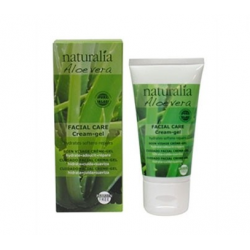 Gel hidratant facial d'Aloe vera 50ml